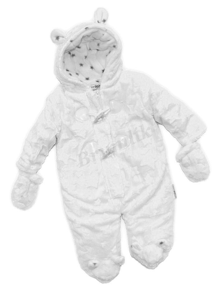 03acd8be27a kojenecká zimní kombinéza Medvídek hvězdička