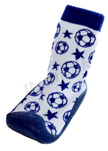 Dětské botičky All in One - fotbal modré 23d68b00bf
