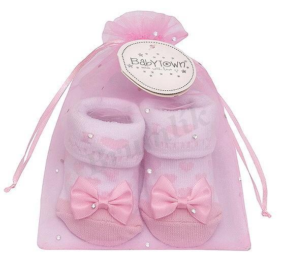 99608692e69 kojenecké dárkové ponožky I LOVE MUMMY růžové