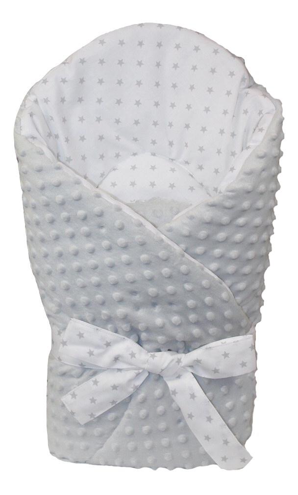 Zavinovačka Bubbles - šedá hvězdičky  ed2fdb2777