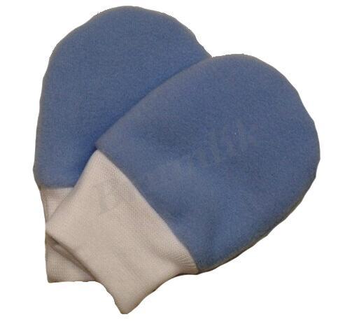 b1c0bc91f05 Kojenecké fleecové rukavičky - tmavě modré