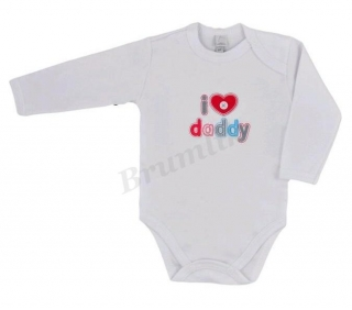 Body s nápisem I LOVE DADDY
