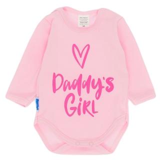 36fe77a9dc0 Dětské body DADDYS GIRL - růžové 56 empty