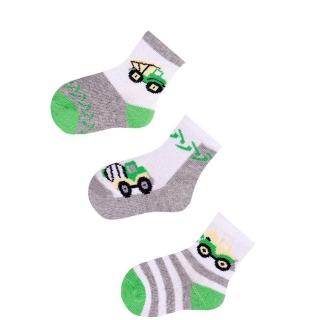aac0937c153 Kojenecké bavlněné ponožky 3 páry Náklaďák empty