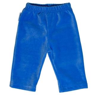 Kojenecké sametové tepláky modré 74 empty 47e48a9929