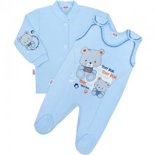6b5d213a4e9 Kojenecká 2D soupravička Teddy bear modrý 50 empty