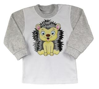 Dětské tričko dlouhý rukáv Ježeček 80 empty ace9c5752b